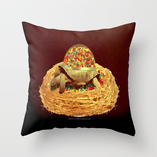 Super Clutch 003 Throw Pillow