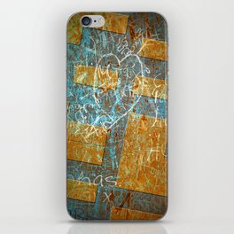 Grunge Background 6 iPhone Skin