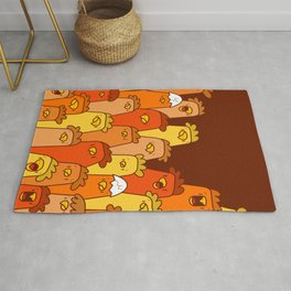 Pile of Clucks Rug