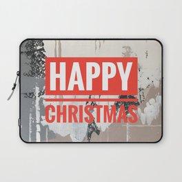 Snowfall - Happy Christmas Laptop Sleeve