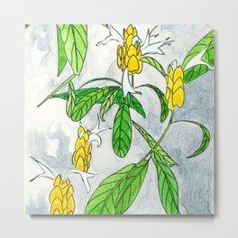 Caribbean Candela flower Metal Print