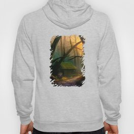 Tardis And The Jungle Old House Hoody