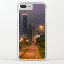 Atlanta, Early Morning Clear iPhone Case