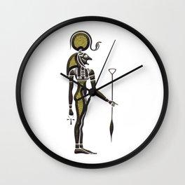 Bastet - Goddess of ancient Egypt Wall Clock