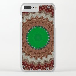Some Other Mandala 115 Clear iPhone Case