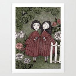 Grandmother's Garden Art Print