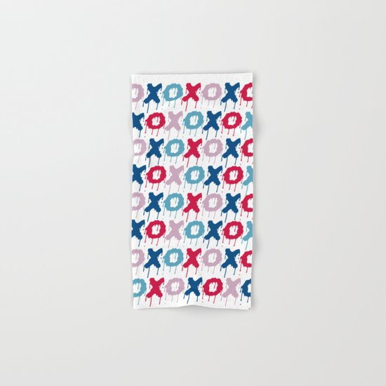 X O PATTERN  Hand & Bath Towel