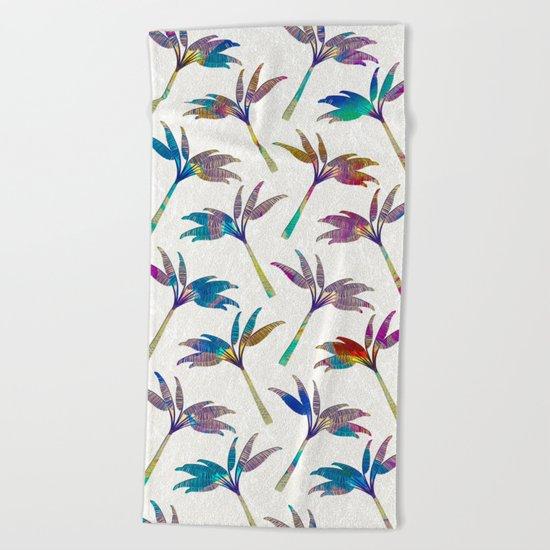 Palm Tree pattern Beach Towel
