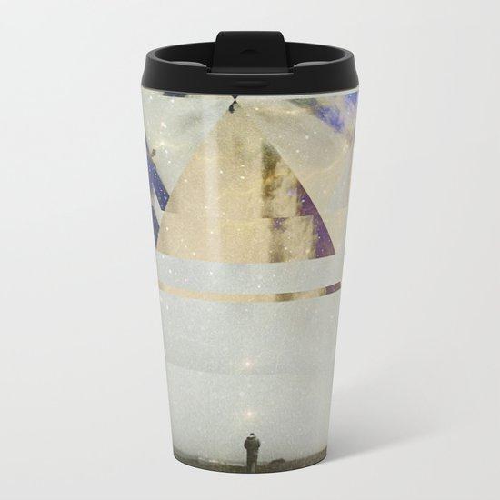 Fractions 01 Metal Travel Mug
