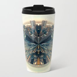 Parallel New York Cities Metal Travel Mug