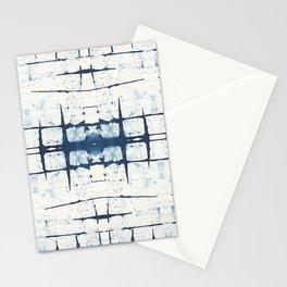 Faded Japanese Shibori Stationery Cards