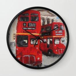 A London Journey Wall Clock