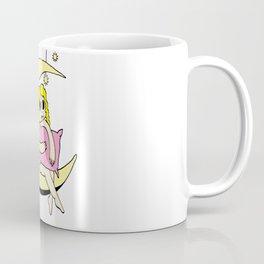 Girl on the Moon (colour version) Coffee Mug