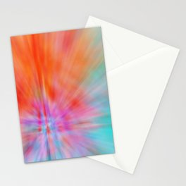 Abstract Big Bangs 002 Stationery Cards