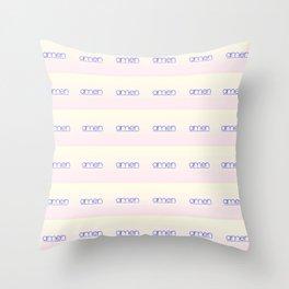 amen 4 Throw Pillow