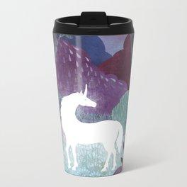 The Last Unicorn Metal Travel Mug