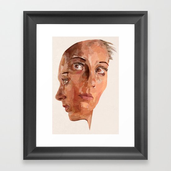Another Side To Me Framed Art Print