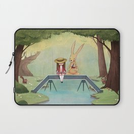 Mr. Rabbit and the Lovely Present Laptop Sleeve