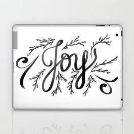 Joy and mistletoe Laptop & iPad Skin