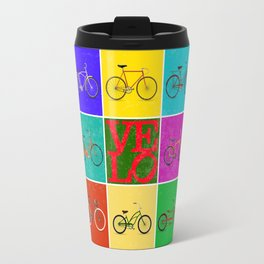 Velo Love – 8 Bikes PoP - June 12th – 200th Birthday of the Bicycle Travel Mug