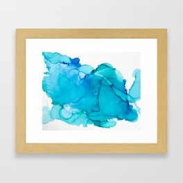 Blue Infinity Framed Art Print