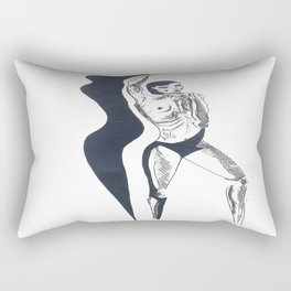 shadow attack two Rectangular Pillow