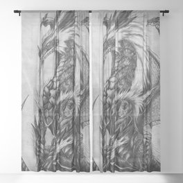 Dragon Sheer Curtain