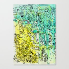 Water color 1 Canvas Print