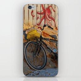Bike on the Beach iPhone Skin