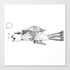 Fish, a fishy fish Canvas Print