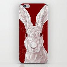 Red Rabbit  iPhone & iPod Skin
