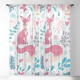 Foxy Sheer Curtain