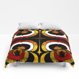 Making Eyes Of Abstract Bliss By Omashte Comforters