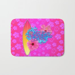 Surfer Girl  Bath Mat