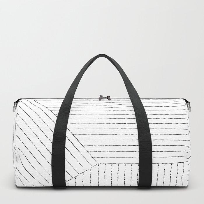 Lines Art Duffle Bag