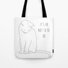 IT'S OK CAT Tote Bag