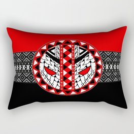 Dead Pool Pattern Symbol Rectangular Pillow
