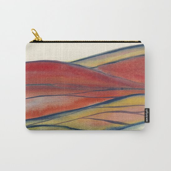 Watercolor abstract landscape 28 Carry-All Pouch