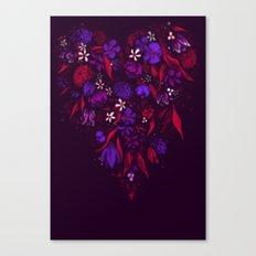 Still Bleeding Heart Canvas Print