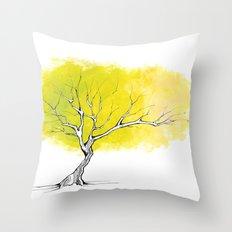 The Hummingbird Tree Throw Pillow