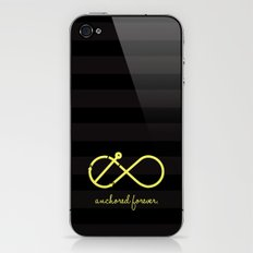 Anchored Forever iPhone & iPod Skin
