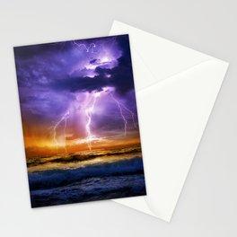 Illusionary Lightning Stationery Cards
