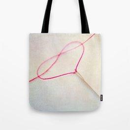 heart V Tote Bag