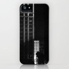 architecture immeuble noir blanc 4 iPhone Case
