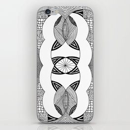 Blank Spaces iPhone Skin