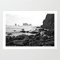 La Push Beach #2 - La Push, WA (6) Art Print