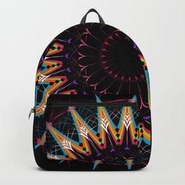 Futuristic Zen Mandala Backpack