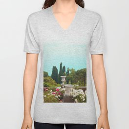 sea ​​view from the park Unisex V-Neck