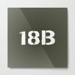 18B Special Forces Metal Print