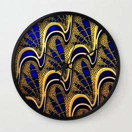 GOLDEN BLUE Wall Clock